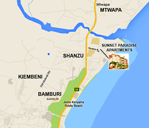 Sunset Paradise Apartments Executive Apartments For Sale In - Where is kenya located